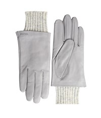 Hestra Megan Light Grey Dress Gloves Gray