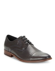 Kenneth Cole Reaction Urban Legend Cap Toe Oxfords Grey