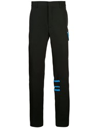 Calvin Klein 205W39nyc Contrast Patch Pocket Trousers Black