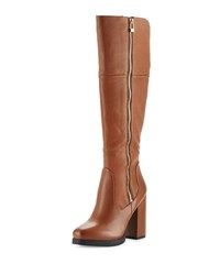 Sam Edelman Circus Hollands Leather Knee High Boot Cognac