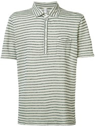 Massimo Alba Wembley Polo Shirt Nude Neutrals