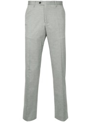 Gieves And Hawkes Tailored Trousers Grey