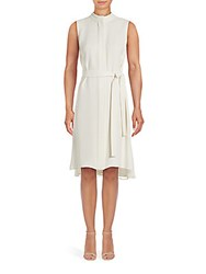Lafayette 148 New York Windsor Silk Cloud Dress