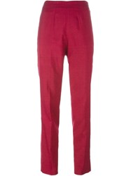 Emilio Pucci Vintage High Waist Trousers Pink And Purple