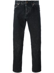Givenchy Washed Finish Jeans Black
