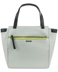 Kenneth Cole Reaction Right Angles Tote Wheat Lime Black