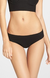 Wildfox Couture Crochet Hipster Bottoms Clean Black