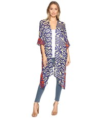 Bindya Mix Texture Kimono Multi Women's Clothing