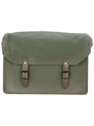 Maison Martin Margiela Structured Shoulder Bag Green