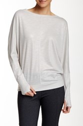 Zobha Activewear Parker Long Sleeve Layering Tee Blue