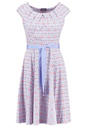Taifun Jersey Dress Sky Blue Light Blue