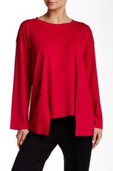 Planet Vent Bottom Tee Red