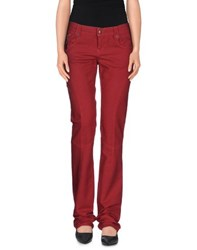 Cnc Costume National C'n'c' Costume National Trousers Casual Trousers Women Red