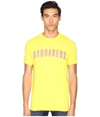 Dsquared Hand Me Down T Shirt Yellow