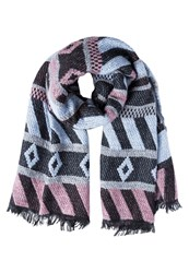 Ichi Tawnie Scarf Brick Dust Grey