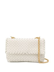 Bottega Veneta Woven Shoulder Bag Neutrals