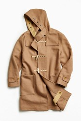 Gloverall X Uo Wool Duffle Coat Light Brown