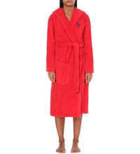 Ralph Lauren Home Logo Embroidered Cotton Dressing Gown