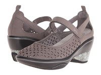 Jambu Calypso Dark Grey Women's Wedge Shoes Gray