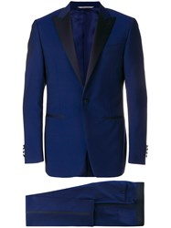 Canali Formal Smoking Suit Blue