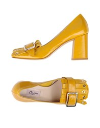 Couture Loafers Yellow