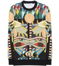 Givenchy Printed Cotton Sweater Multicoloured