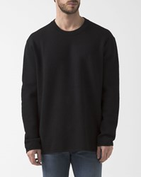 Acne Studios Black Oversize Zipped Micha Wool Pullover