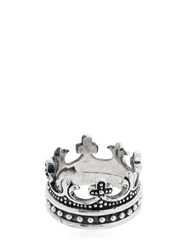 Cantini Mc Firenze Crown Ring Silver