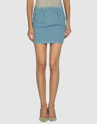 Paul And Joe Sister Skirts Mini Skirts Women Pastel Blue