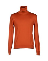 Etro Turtlenecks Rust
