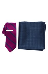 The Tie Bar Wheelhouse Stripe 3 Piece Skinny Style Box Azalea