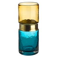 Pols Potten Belt Vase Aqua Brass