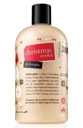 Philosophy Christmas Cookie Shampoo Shower Gel And Bubble Bath No Color