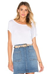 Frame Denim Le Boxy Tee White