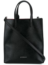 Givenchy Stargate Canvas Tote Black