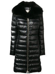 Herno Hooded Padded Coat Black