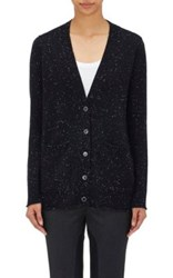 Atm Anthony Thomas Melillo Women's Donegal Effect Cardigan Navy