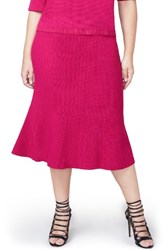 Rachel Roy Plus Size Women's Pebble Jacquard Fit And Flare Skirt