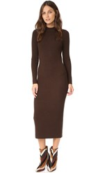 Demy Lee Harley Sweater Dress Dark Brown
