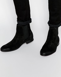 Selected Homme Yannick Suede Boot Black