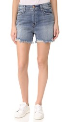 J Brand Ivy High Rise Shorts Wrecked