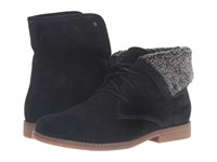 Hush Puppies Marthe Cayto Black Suede Women's Pull On Boots