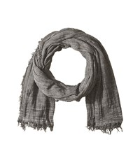 Polo Ralph Lauren Lightweight Cotton Solid Scarf Perfect Grey Scarves Gray