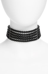 Sophie Buhai Women's Onyx And Sterling Silver Choker