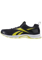 Reebok Triplehall 5.0 Neutral Running Shoes Smokey Black Hero Yellow Black