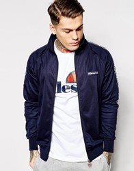 Ellesse Track Jacket With Side Taping Navy