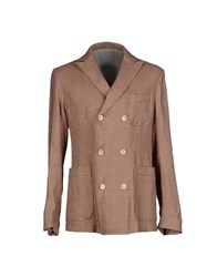 Philippe Model Suits And Jackets Blazers Men Brown