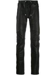 Balmain Skinny Leather Trousers 60