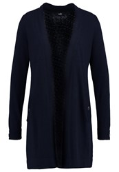 Wallis Andorra Cardigan Navy Dark Blue
