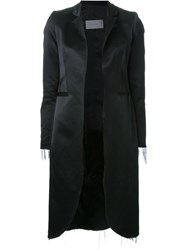 Strateas Carlucci Satin Blazer Black
